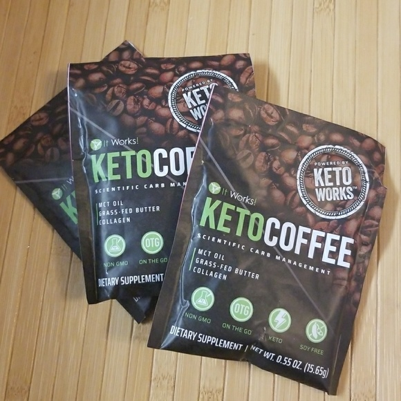 It Works Global Keto Coffee